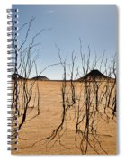 Black Desert Spiral Notebook