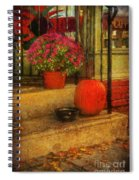 Black Dog Coffee And Catering Spiral Notebook
