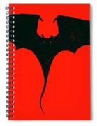 Black Dragon Spiral Notebook