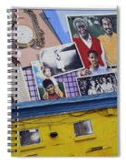 Black Family Reunion Mural Spiral Notebook