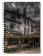Black  Forest Hospital Spiral Notebook