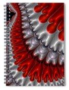 Black Friday Descends Spiral Notebook