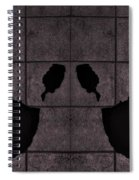 Black Hands Pink Spiral Notebook