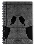 Black Hands  Spiral Notebook