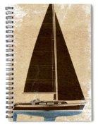 Black Heart Spiral Notebook