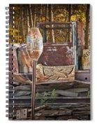 Black Hills Gold Truck Sign Spiral Notebook