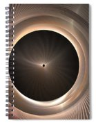 Black Hole Spiral Notebook