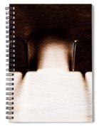 Black Keys D Flat And E Flat  Spiral Notebook