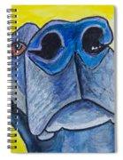 Black Lab Nose Spiral Notebook