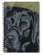 Black Labrador Spiral Notebook