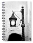 Black Light Spiral Notebook
