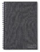 Black Linen Texture Spiral Notebook