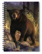 Black Max Spiral Notebook