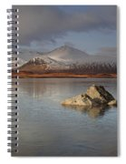 Black Mount And Lochan Na H-achlaise Spiral Notebook