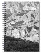 Black Mountains Of Arizona Spiral Notebook