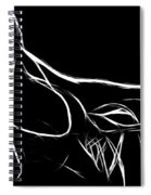 Black Passion Spiral Notebook