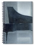 Black Piano 2004 Spiral Notebook