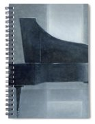 Black Piano 2004 Spiral Notebook