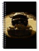Black Pickup Truck Spiral Notebook