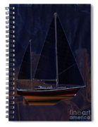 Black Princess Spiral Notebook