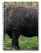 Black Rhino-19 Spiral Notebook