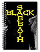 Black Sabbath 1978 Spiral Notebook