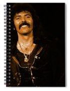 Black Sabbath #46 Enhanced In Amber Spiral Notebook