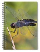 Black Saddlebags Spiral Notebook