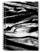 Black Sand  Spiral Notebook