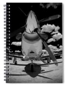 Black Sky Spiral Notebook
