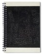 Black Square Spiral Notebook