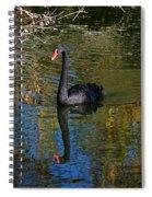 Black Swan 4 Spiral Notebook