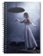 Black Umbrella Spiral Notebook