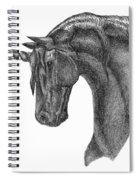 Black Unicorn Spiral Notebook