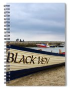 Black Ven Spiral Notebook