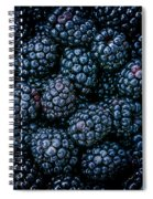 Blackberries Spiral Notebook