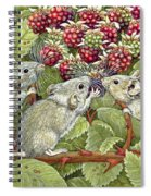 Blackberrying Spiral Notebook