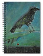 Blackbird Redberry Spiral Notebook