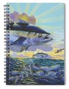 Blackfin Bust Off00116 Spiral Notebook