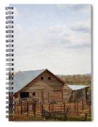 The Blackfoot Barn Spiral Notebook