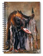 Blackfoot Medicine Man Spiral Notebook