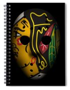 Blackhawks Goalie Mask Spiral Notebook