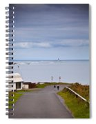 Blackrock Lighthouse, Off Rosses Point Spiral Notebook