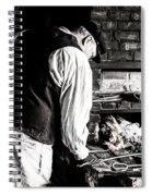 Blacksmith Spiral Notebook