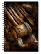 Blacksmith - The Art Of Pounding  Spiral Notebook