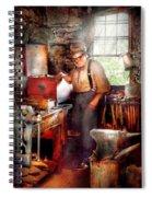 Blacksmith - The Smithy  Spiral Notebook