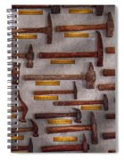 Blacksmith - Tools - Pounding Headache  Spiral Notebook