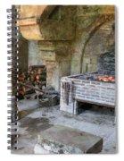 Blacksmiths Workshop Spiral Notebook