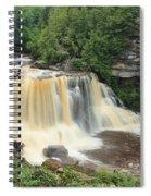 Blackwater River Falls West Virginia Spiral Notebook