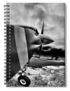 Blade Flyer Spiral Notebook